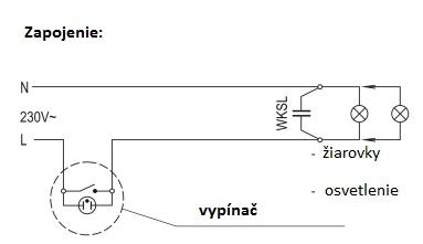 KONTAKT SIMON - Eliminátor blikania LED žiaroviek a osvetlenia WKSL